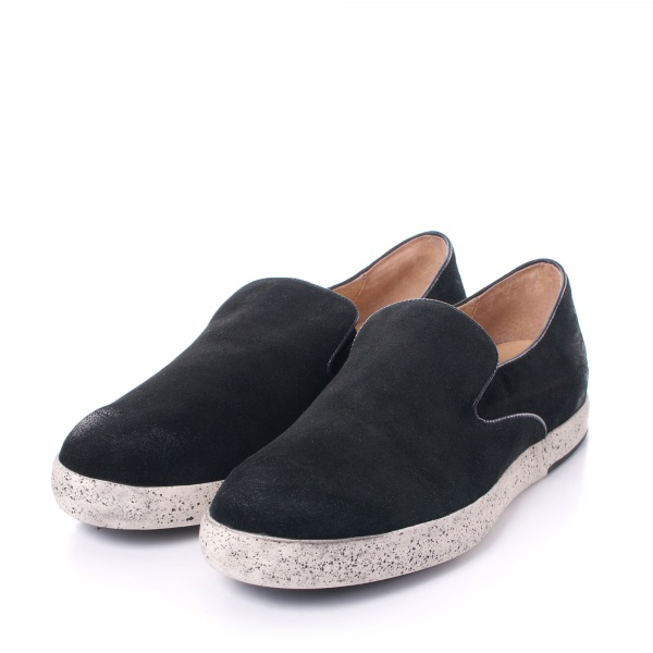 Gram 256g black waxed suede