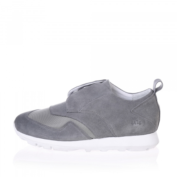 Gram 442g light grey suede