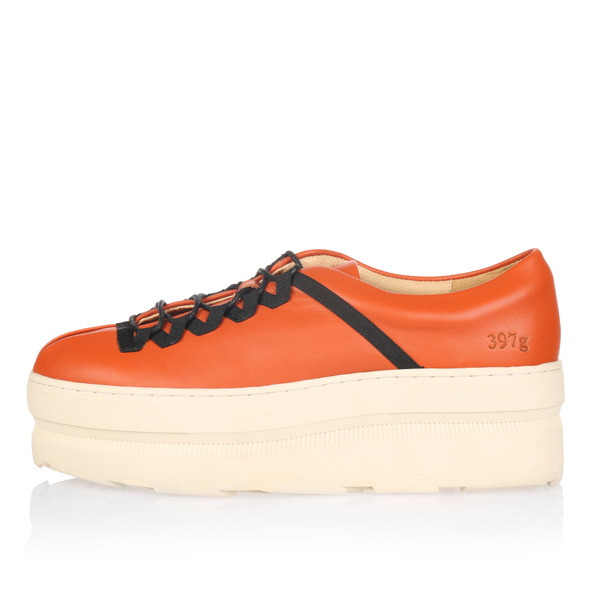 Gram 676g burnt orange leather orange nylon
