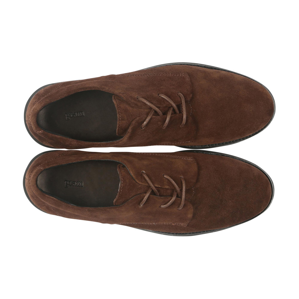 Gram 380g A chocolate brown suede