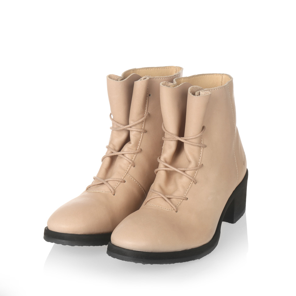 Yatfai Yatfai boot tea leather