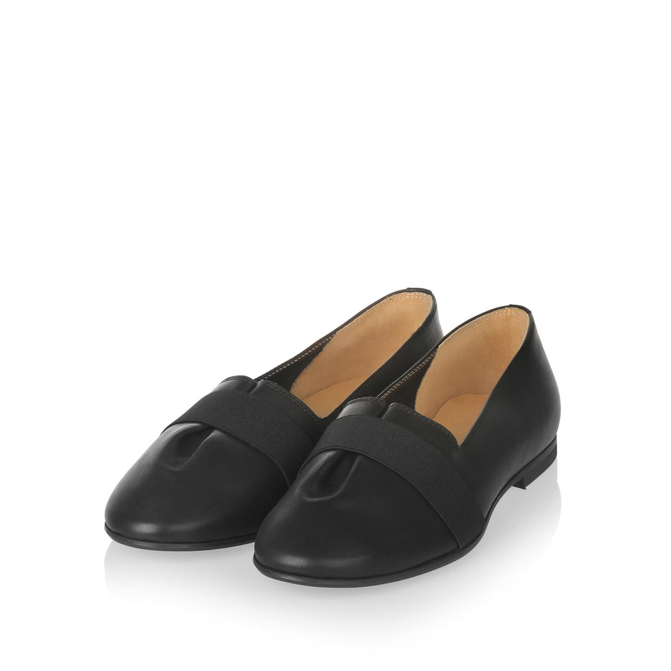 Yatfai Yatfai Ballerina black leather