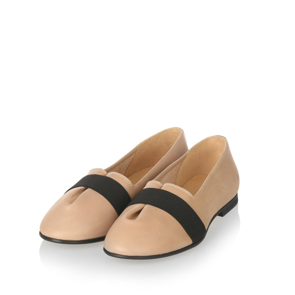 Yatfai Yatfai ballerina tea leather