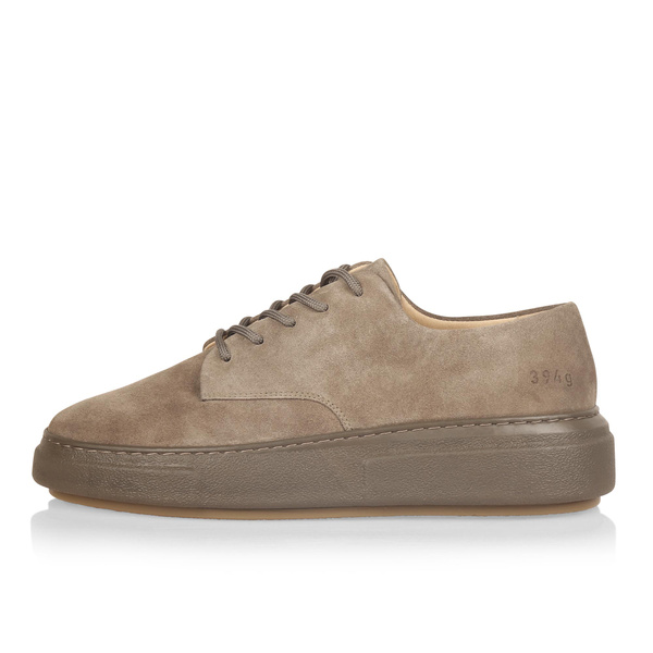 Gram 394g light walnut suede