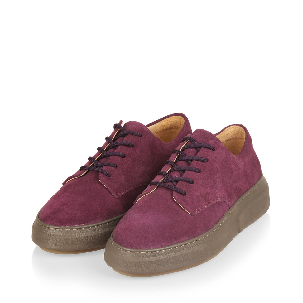 Gram 394g purple suede