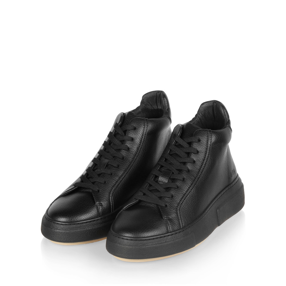 Gram 408g black vegan leather