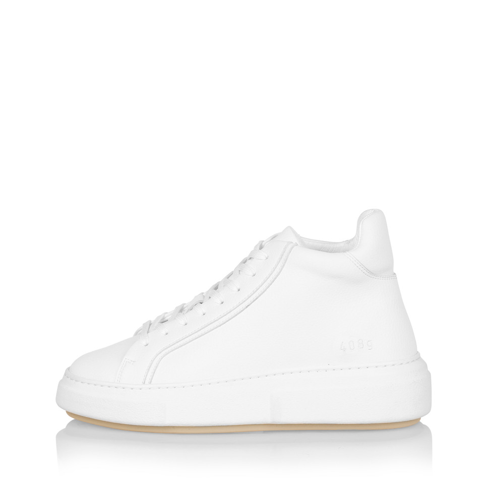 Gram 408g white vegan leather