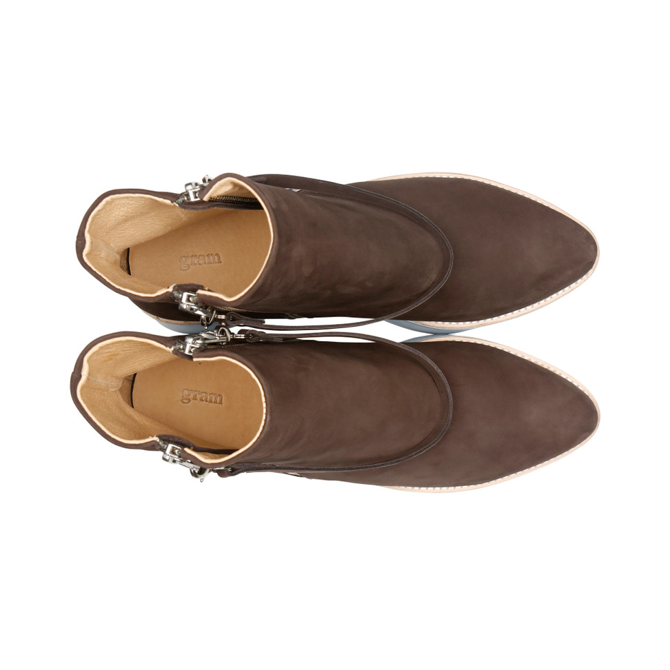 Gram 503g coco brown oiled nubuck
