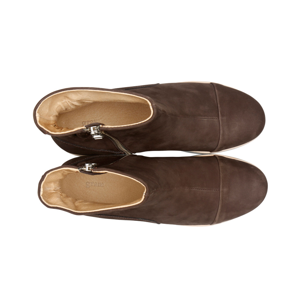 Gram 425g elasto coco brown oiled nubuck